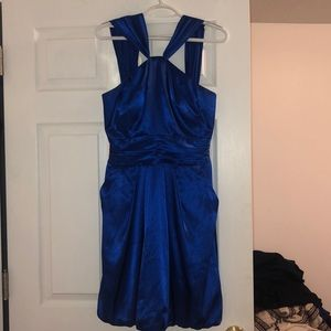 Royal Blue Dress / Prom Dress / Homeocoming